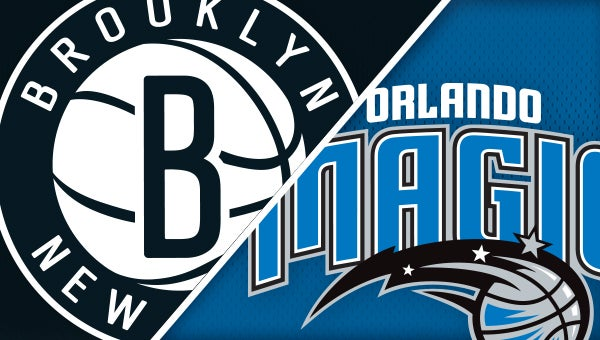 orlando magic vs brooklyn nets amway center