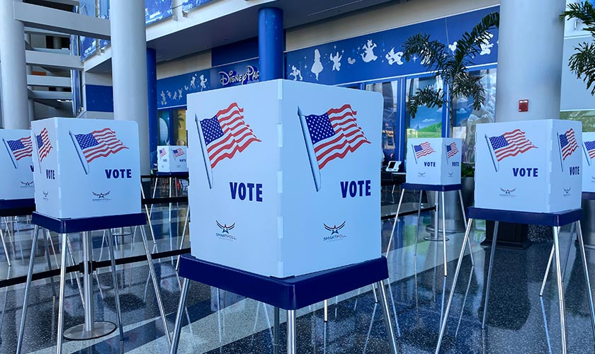 Early Voting at Amway Center