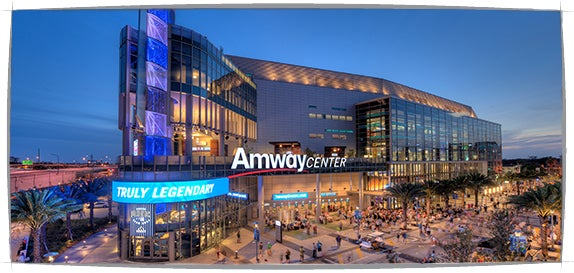 Plan Your Visit   Amway Center