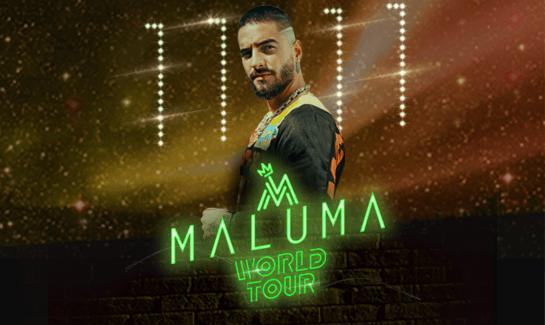 Maluma Tour 2020.Maluma Amway Center