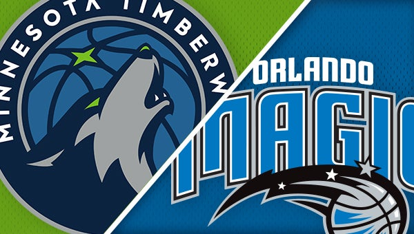 47c5b1989 Orlando Magic vs. Minnesota Timberwolves
