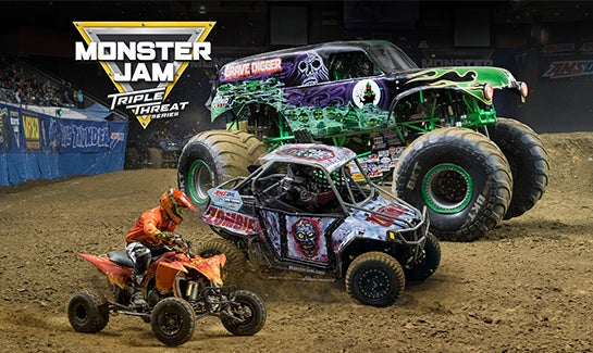 Image result for monster jam triple threat series august 18