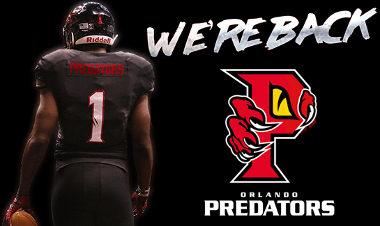 ORLANDO PREDATORS vs. CAROLINA COBRAS