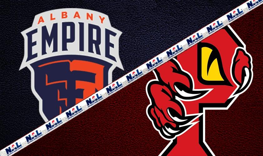 Orlando Predators vs. Albany Empire