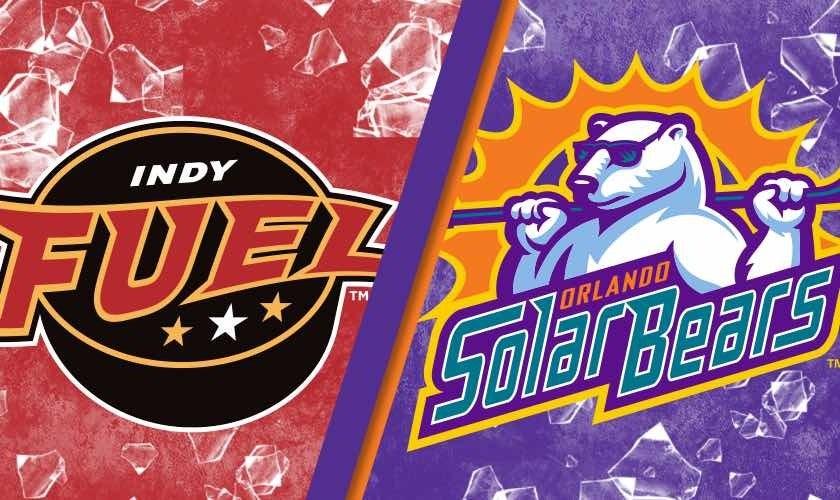 More Info for Orlando Solar Bears vs. Indy Fuel