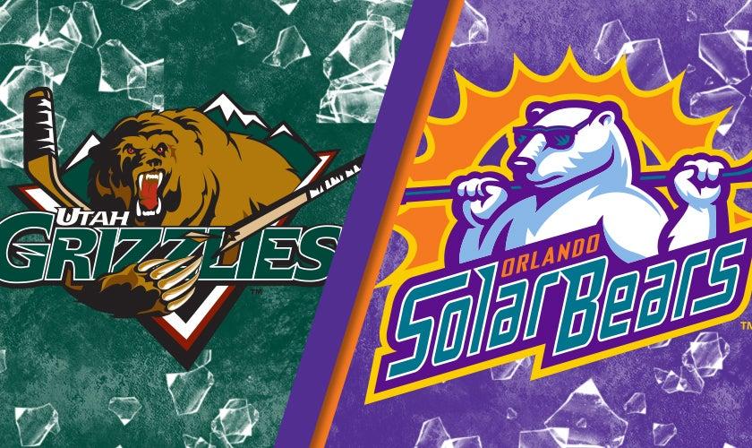 Orlando Solar Bears vs. Utah Grizzlies
