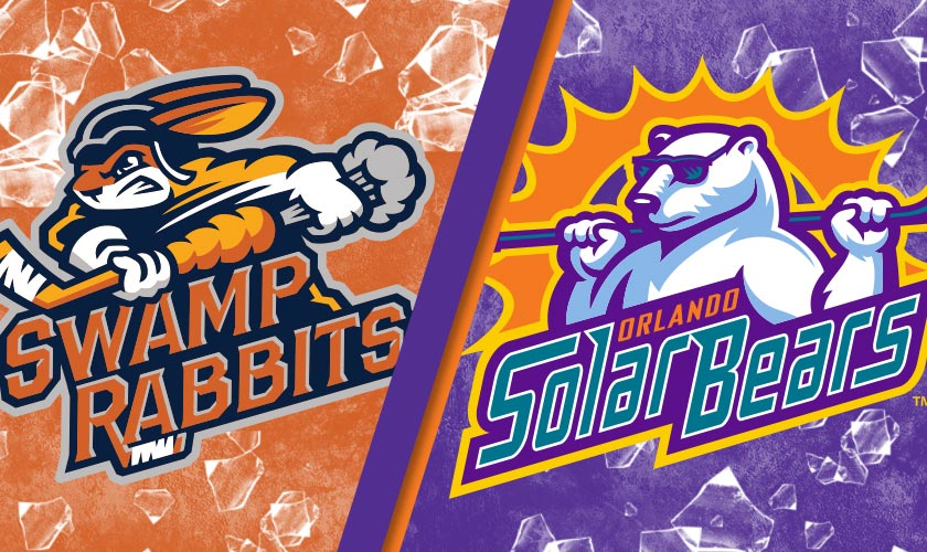Orlando Solar Bears vs. Greenville Swamp Rabbits